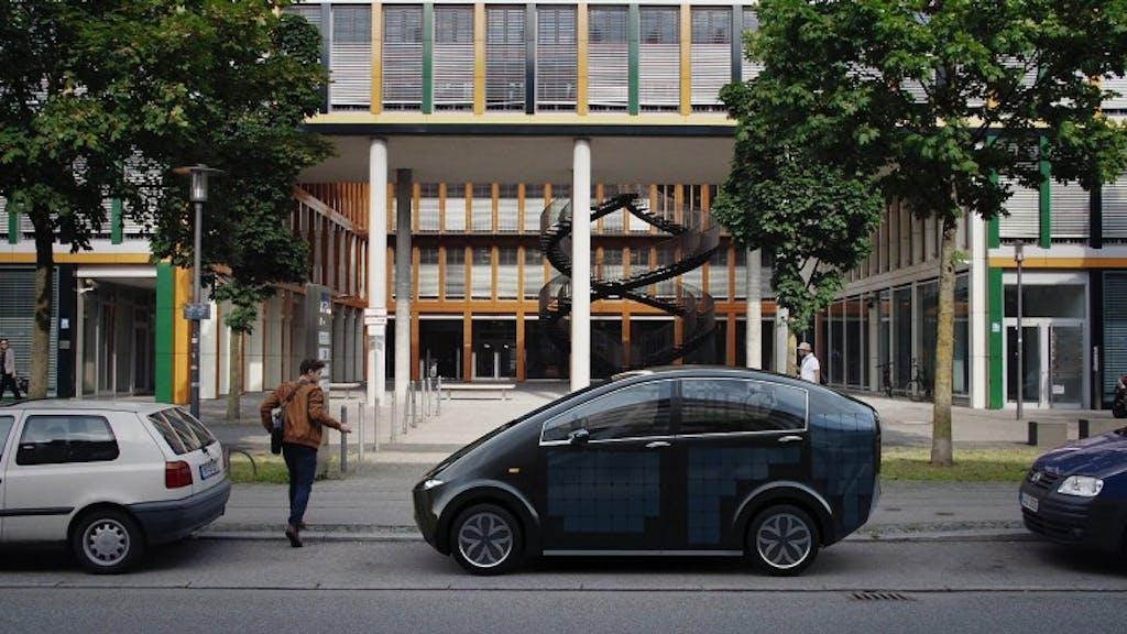 SonoMotors Sion: la prima auto solare di serie al mondo