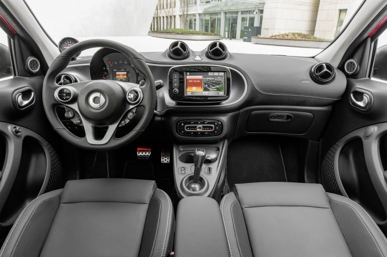 smart BRABUS forfour Xclusive, 2016, red ; smart BRABUS forfour Xclusive, 2016, red;