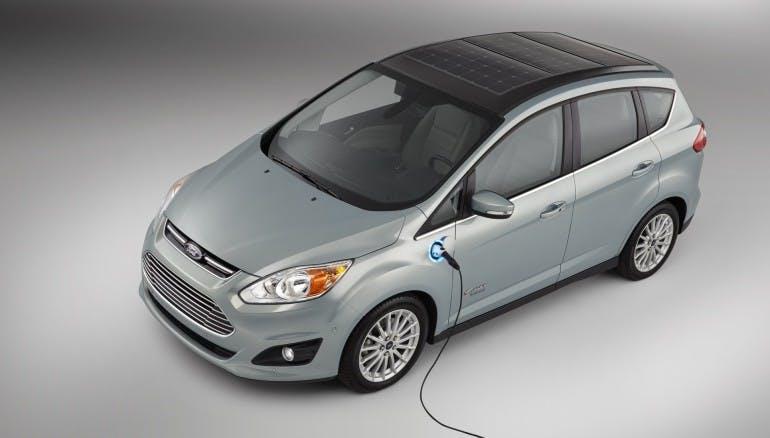 Il prototipo Ford C-MAX Solar Energi