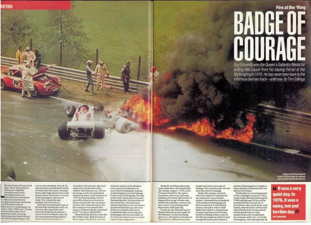 Niki Lauda: 40 anni fa il rogo al Nürburgring