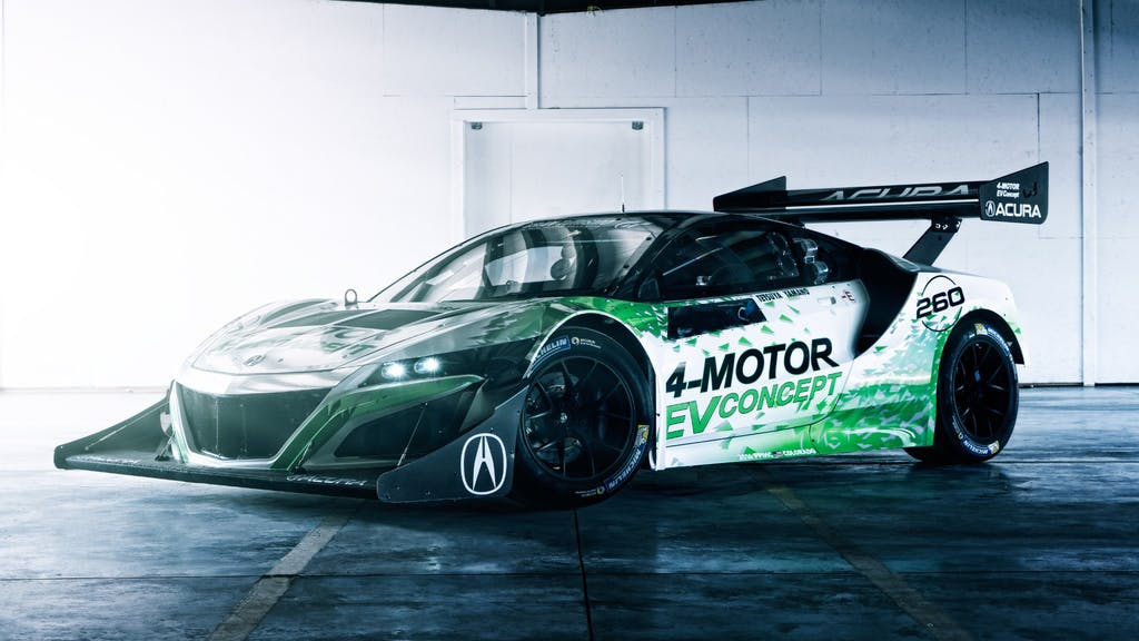 Acura EV Concept: l'NSX diventa elettrica