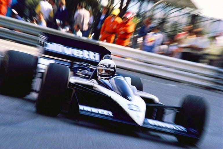 Elio de Angelis, Brabham-BMW