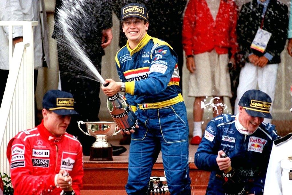 Monaco 1996, la corsa più pazza della Formula 1