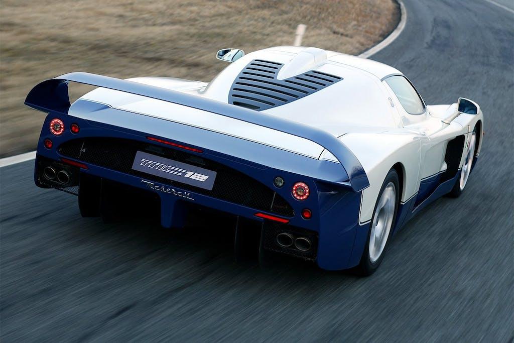 Maserati MC12 Stradale: la mano di Schumacher