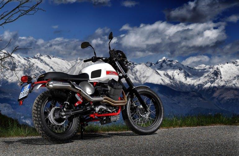 Moto Guzzi V7 II Stornello statiche - 10