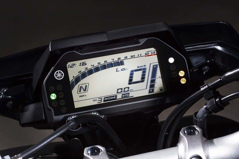 Yamaha MT-10 Maxi naked Cruscotto