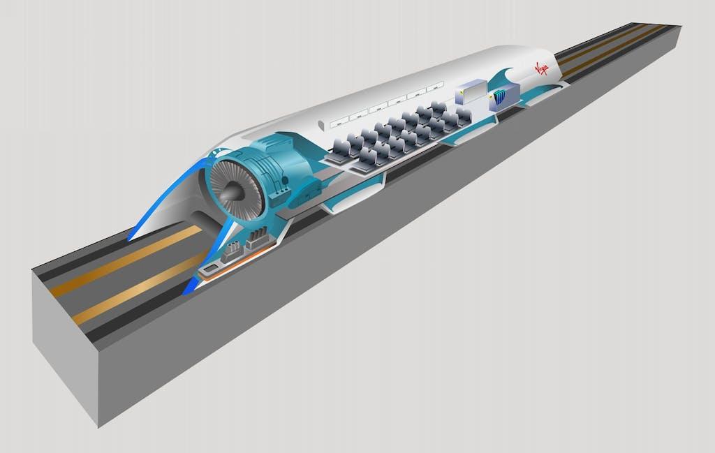 Hyperloop, la capsula supersonica che sostituirà treno e auto
