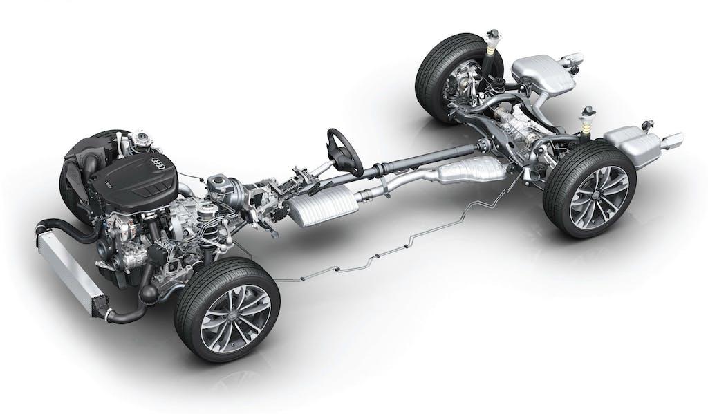 Audi quattro ultra: le nuove 4WD degli Anelli