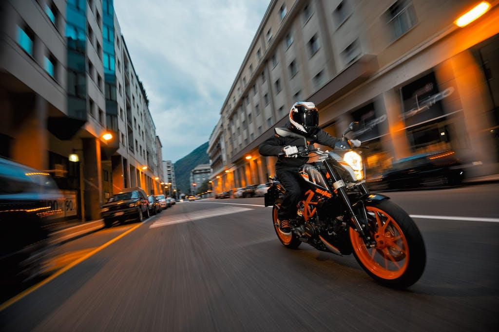 KTM Orange Days: si testa la gamma Street