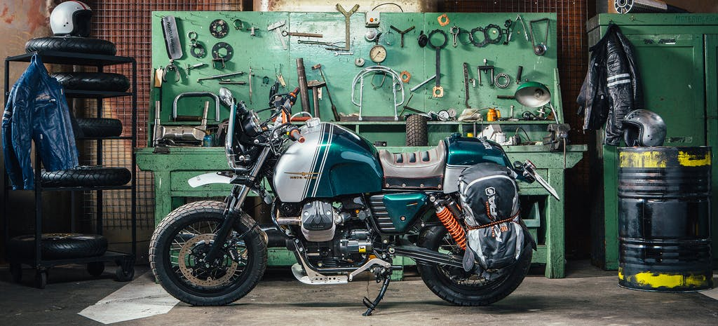 Motoplex ospita le Guzzi di Lord of the Bikes