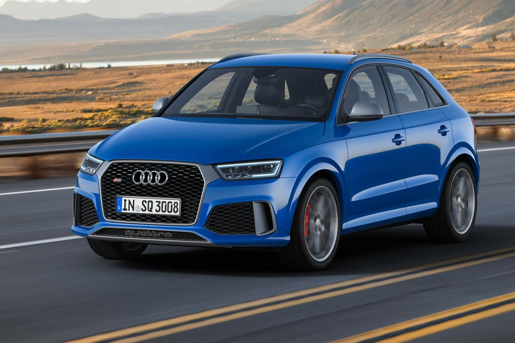Audi RS Q3 Performance: SUV all'attacco
