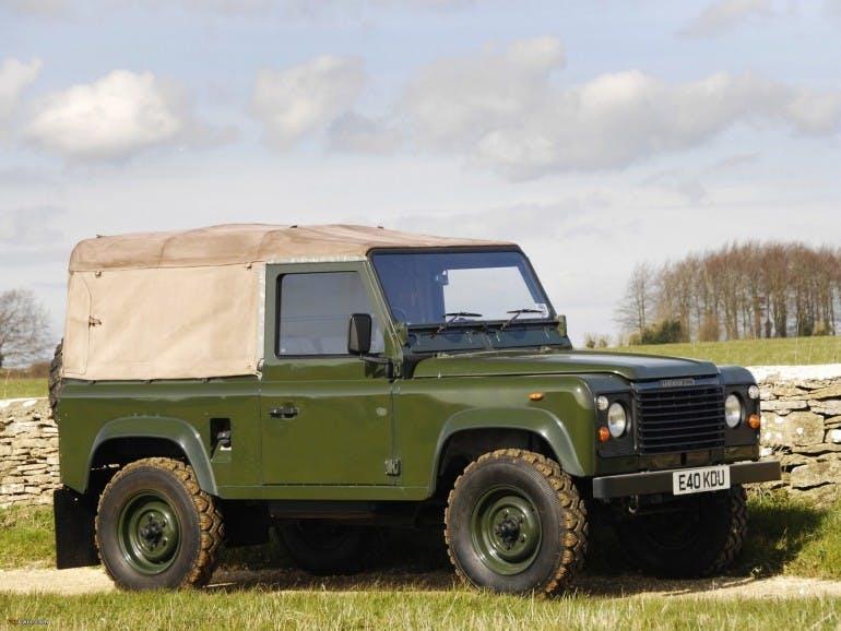 Land Rover Defender Storia Land Rover 90