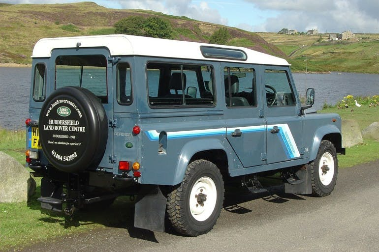 Land Rover Defender Storia
