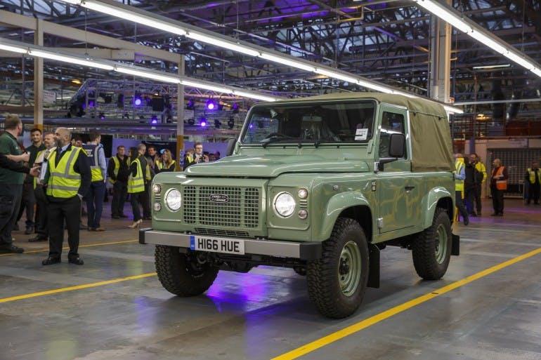 Land Rover Defender Storia Ultimo Esemplare