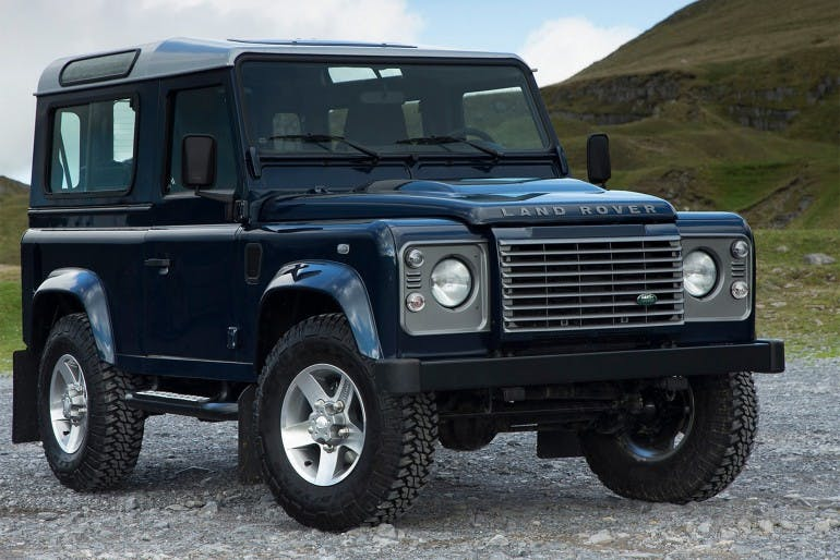 Land Rover Defender Storia Land Rover New Defender