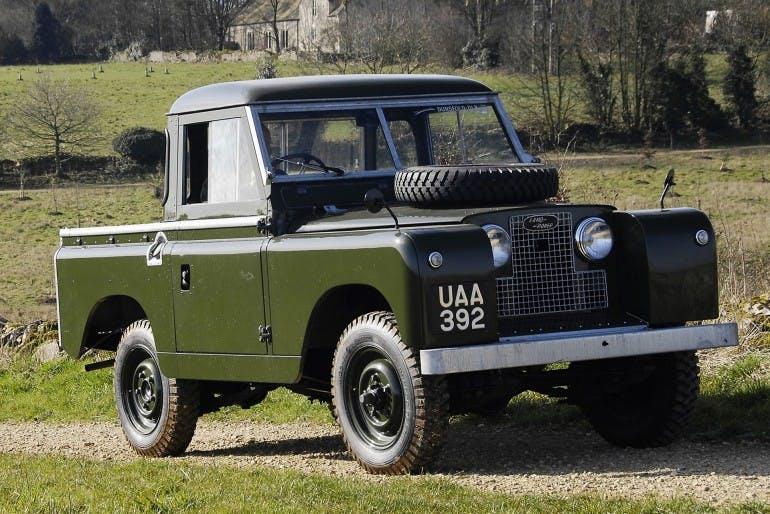 Land Rover Defender Storia Serie 2