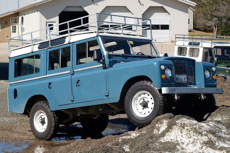 Land Rover Defender Storia Serie 3