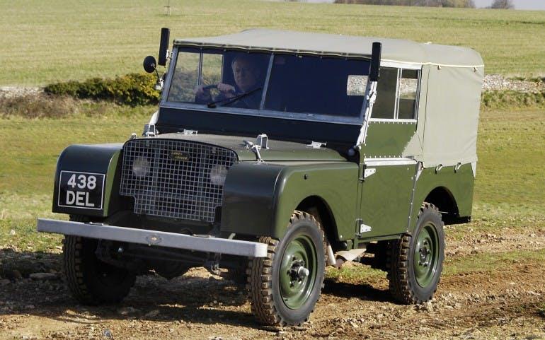 Land Rover Defender Storia prima serie