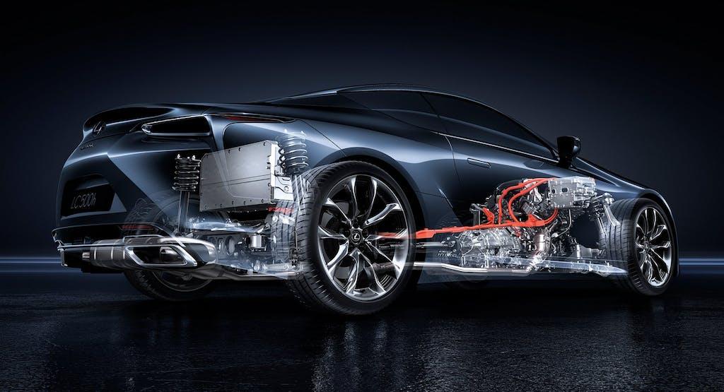 Lexus LC 500h: rivoluzione jap