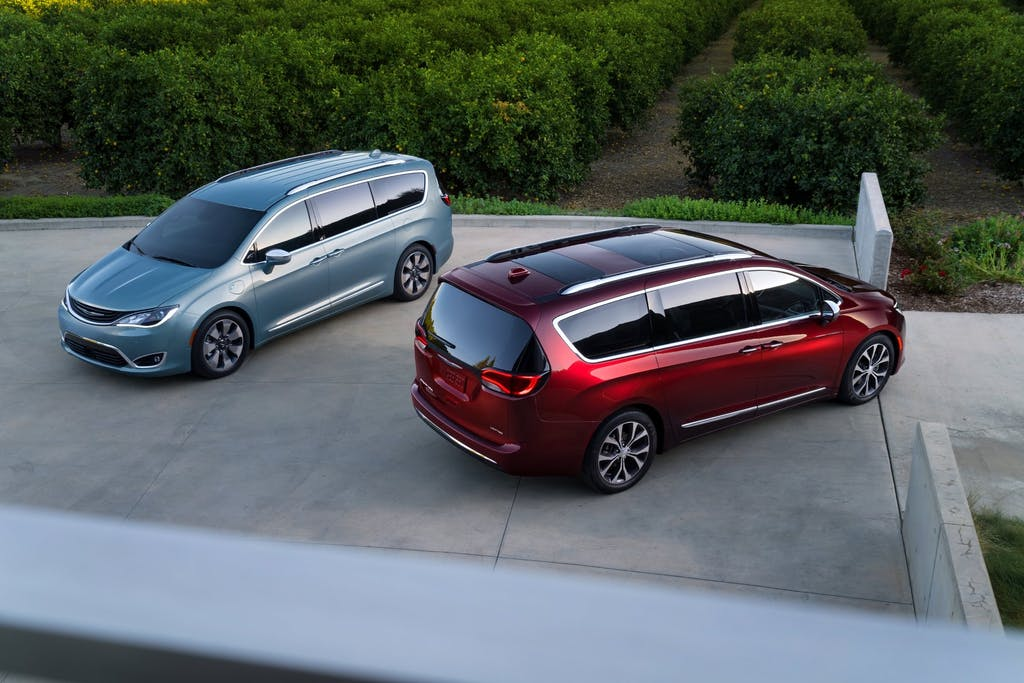 Chrysler Pacifica: l'ibrido plug-in di FCA