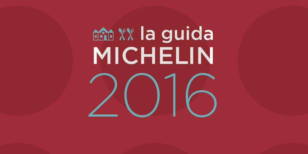 Guida Michelin Italia 2016