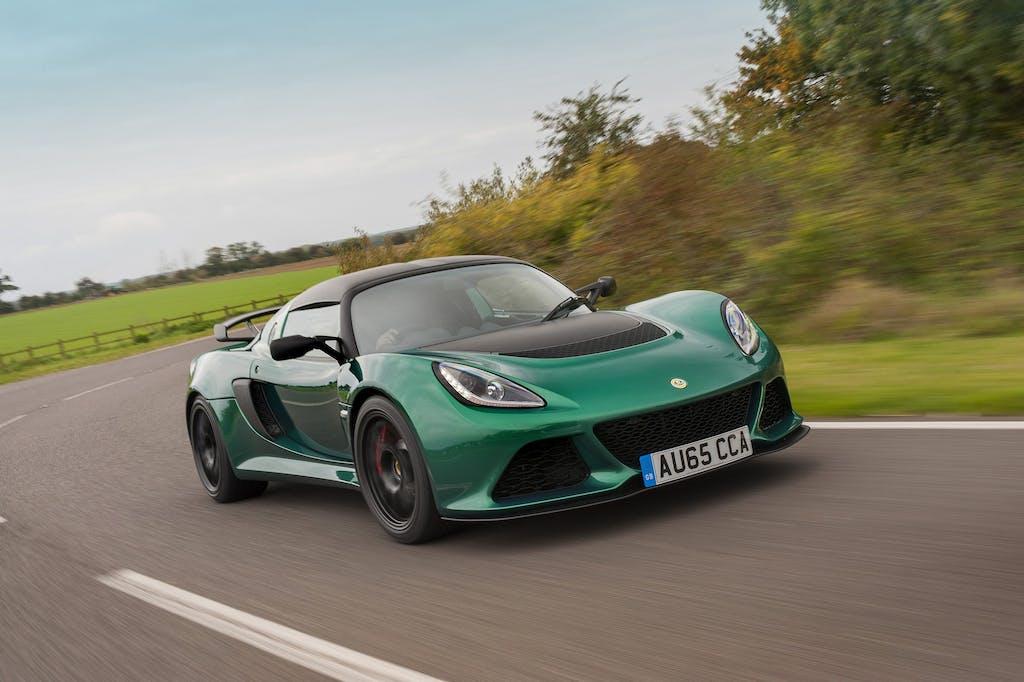 Lotus Exige 350 Sport: dieta ferrea