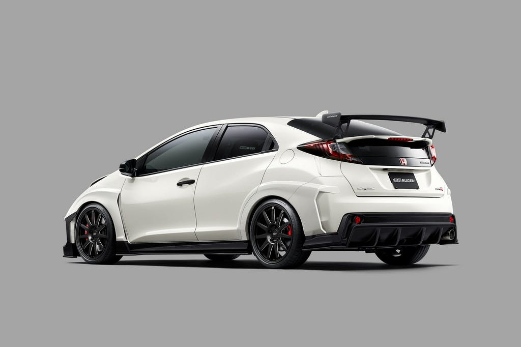 Mugen Honda Civic Type R: body building