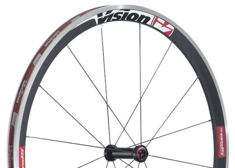 Vision Trimax 35 front wheels copia