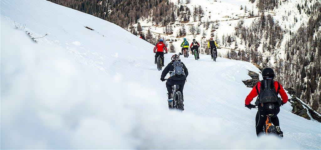 Sgonfiate le gomme, è l'inverno delle Fat bike!