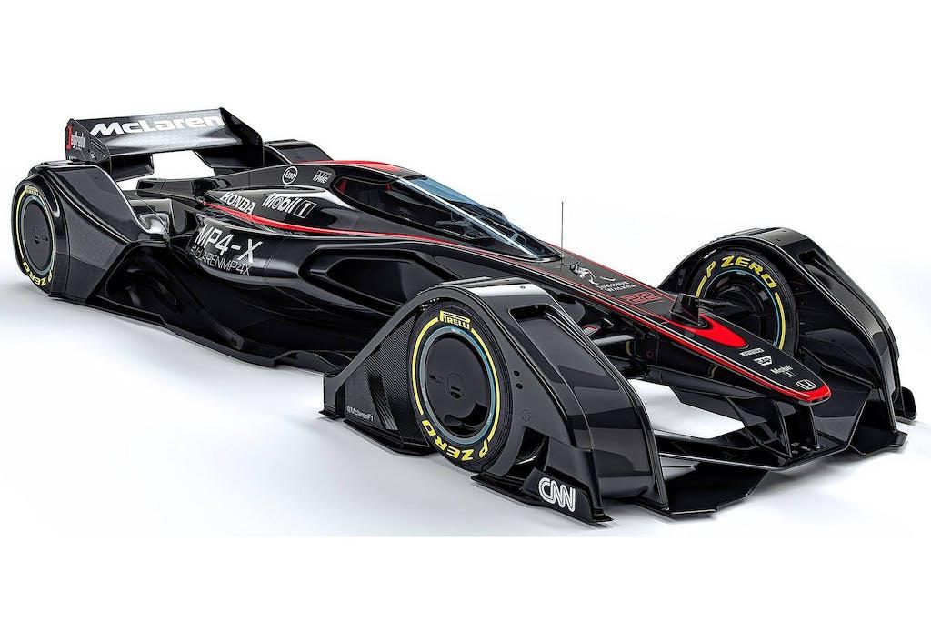 McLaren MP4-X: il futuro della Formula 1
