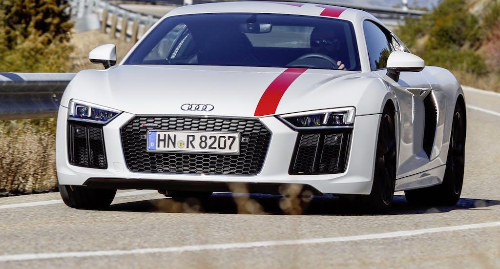 Audi R8 V10 RWS, posteriore per pochi