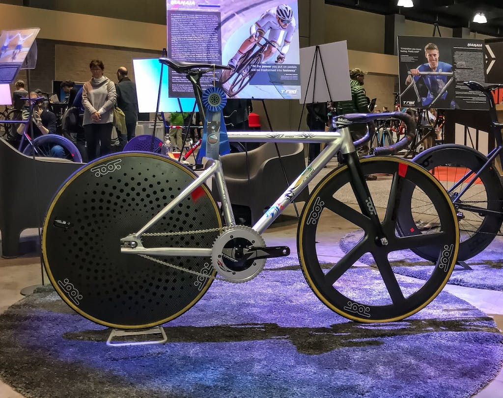 NAHBS 2018: T°RED Manaia Pista eletta Best Track Bike