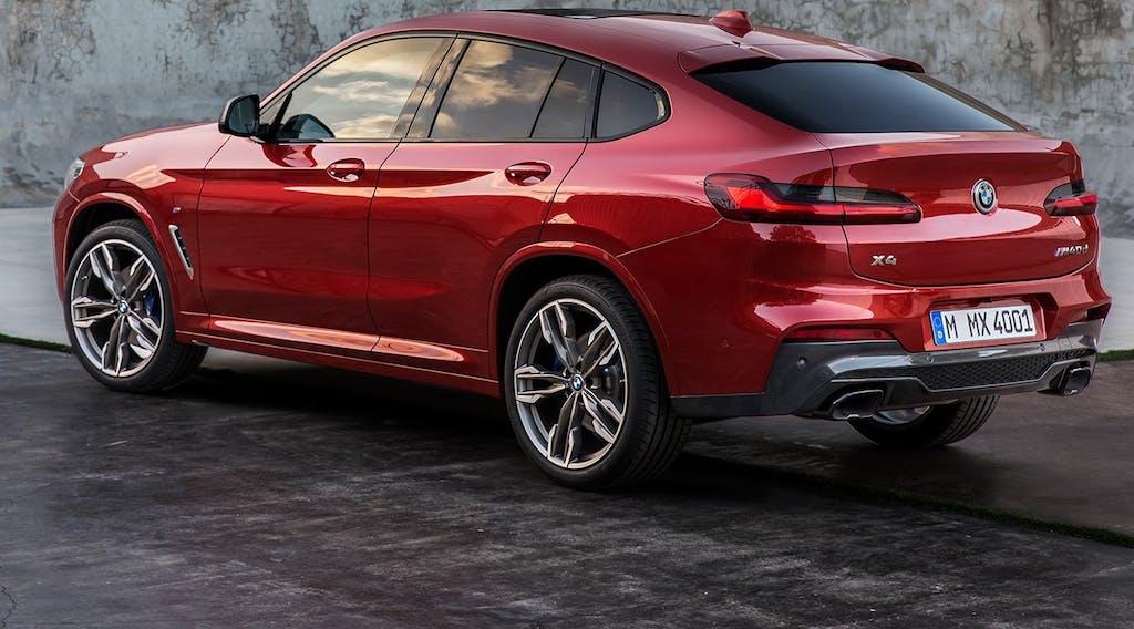 BMW X4, è già tutta nuova
