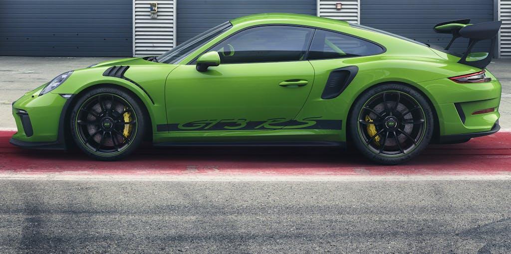 Nuova Porsche 911 GT3 RS, aspirato da sogno