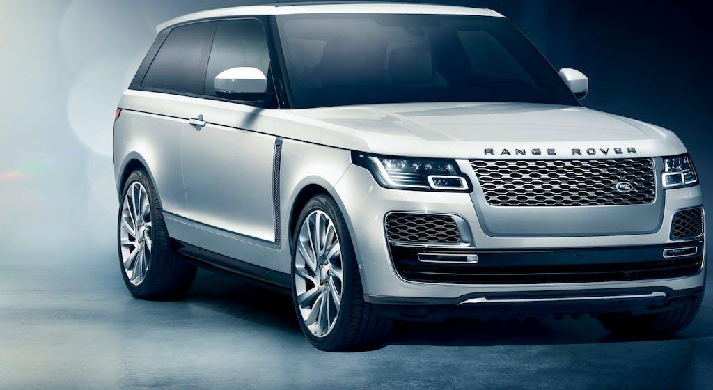 Range Rover SV Coupé, il lusso prima di tutto