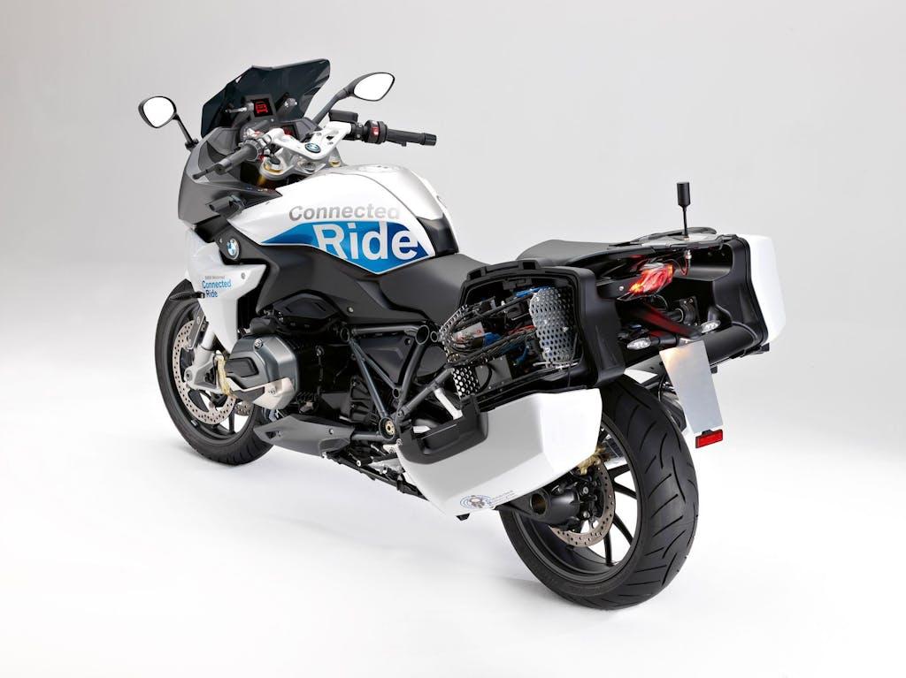 BMW R 1200 RS ConnectedRide, la moto connessa