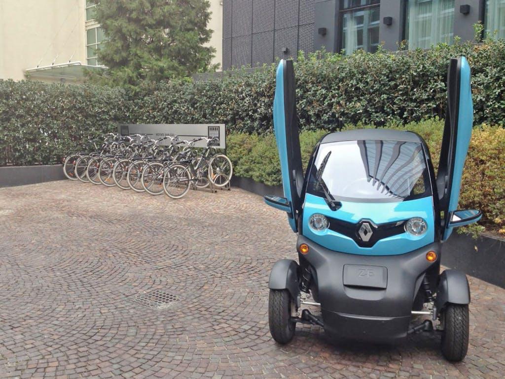 Enegan e Renault Twizy, il business è ecosostenibile