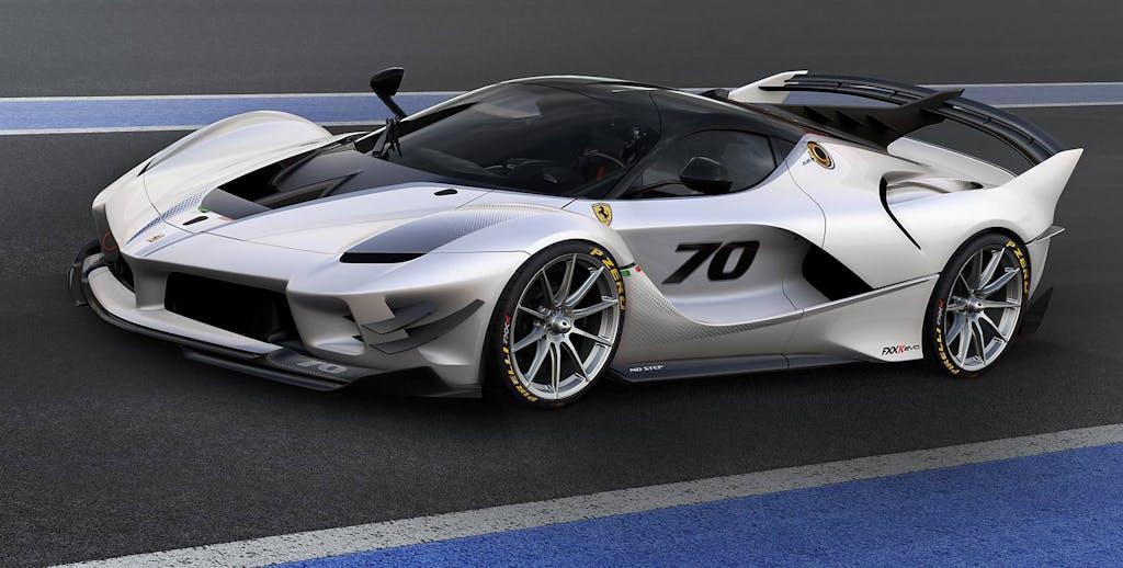 Ferrari FXX-K Evo: nuova veste