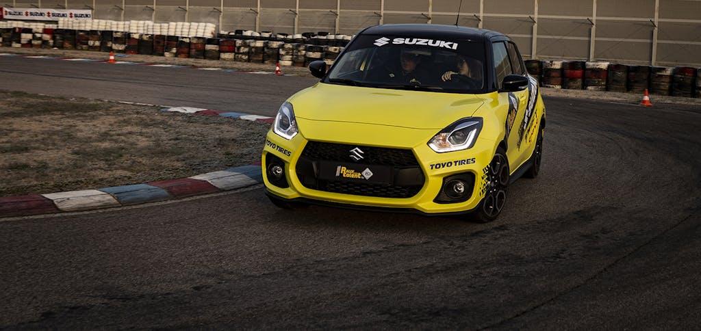 Suzuki, quando il Rally diventa Talent