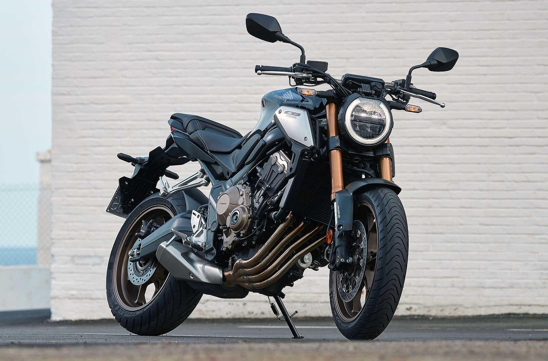 Honda CB650F 2019 statica moto per neopatentati A2