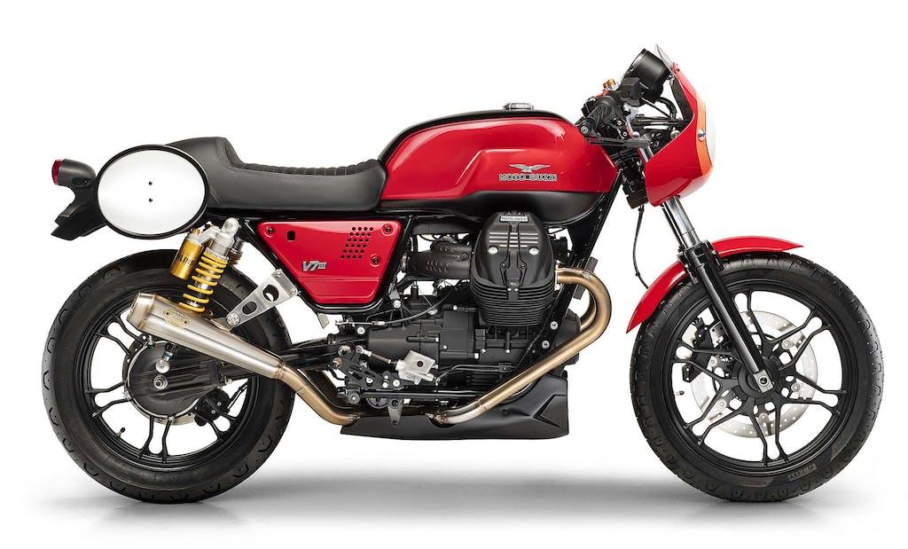 Moto Guzzi Fast Endurance, l'aquila torna in pista
