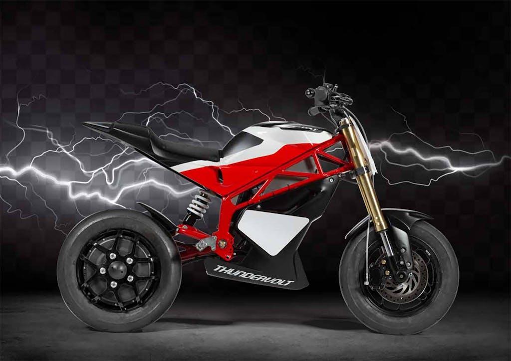 Thundervolt NK-E, la moto elettrica di Reggiani