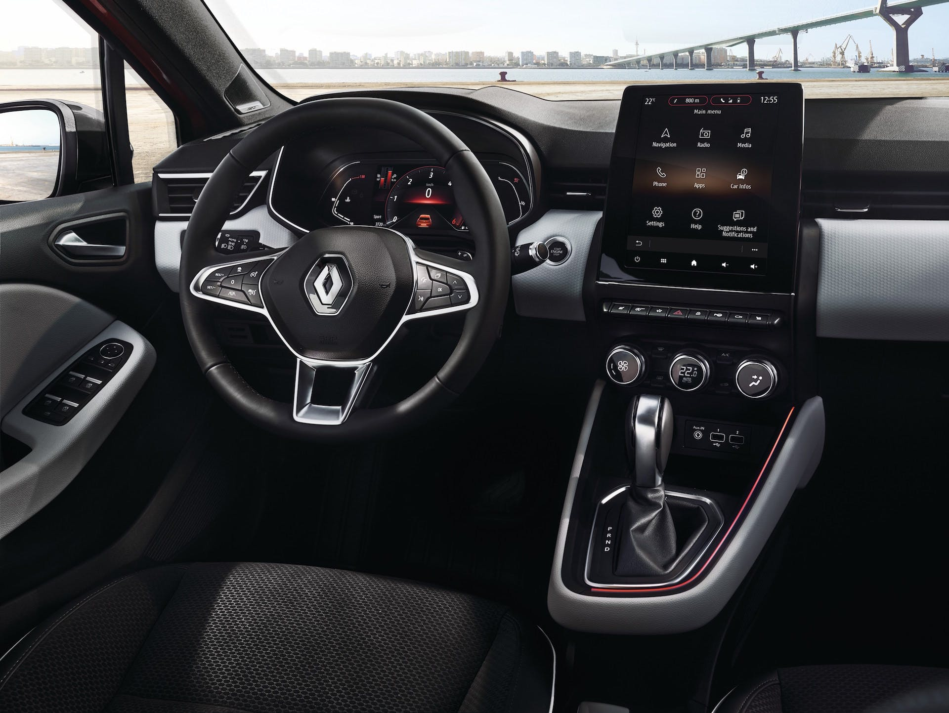 Nuova Renault Clio navigatore