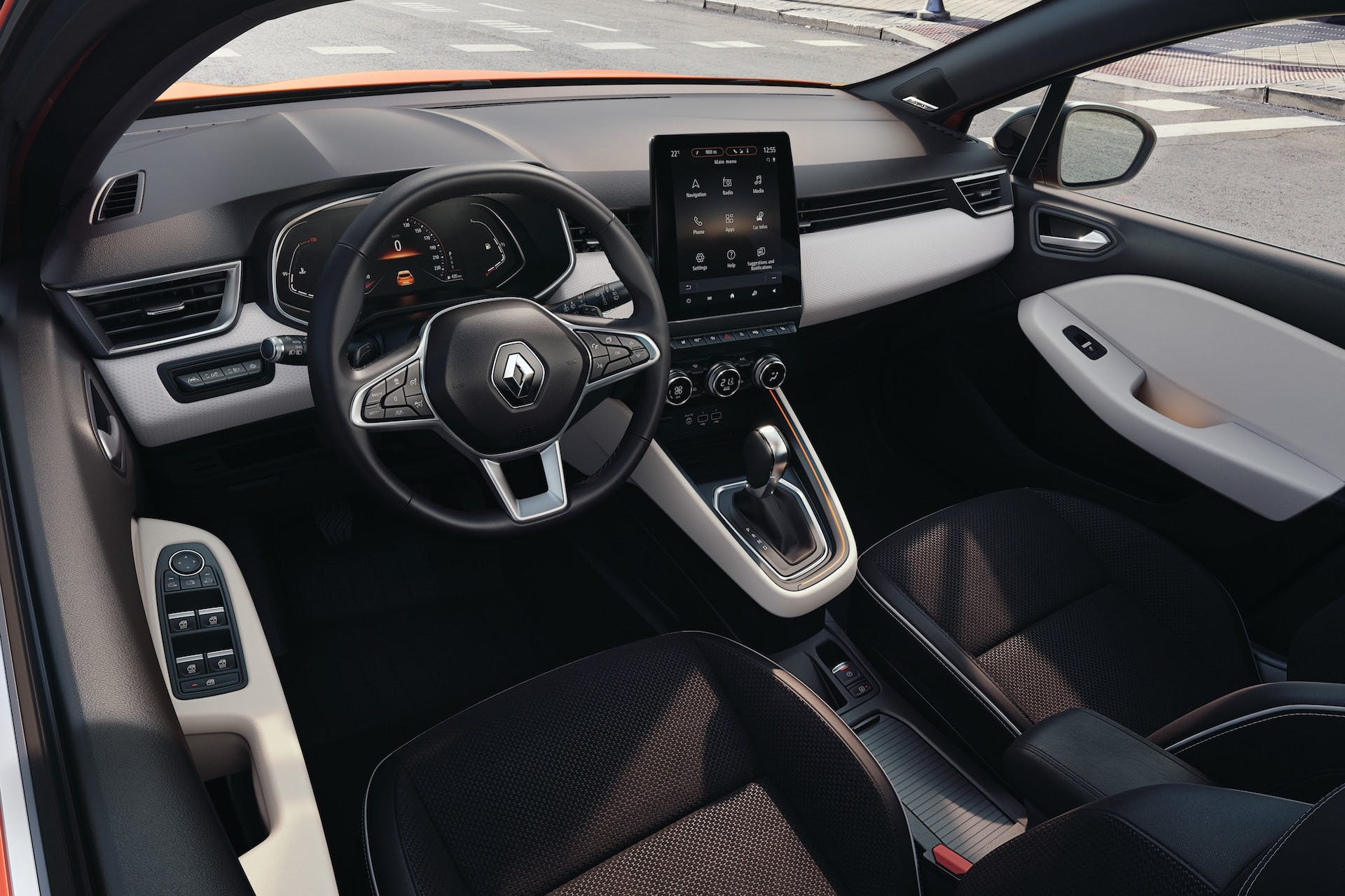 Nuova Renault Clio plancia