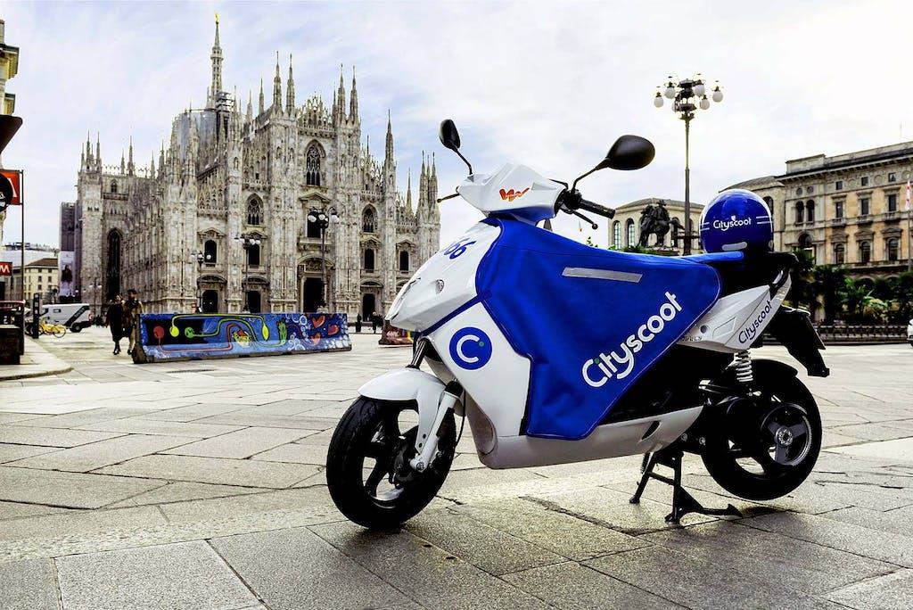Cityscoot, il nuovo servizio di e-scooter sharing