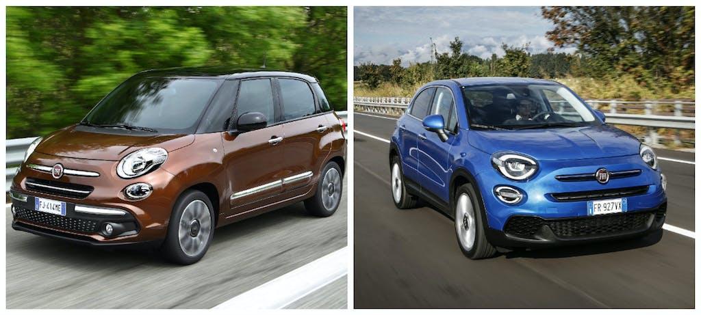 Fiat 500L e 500X, meglio la MPV o la crossover?
