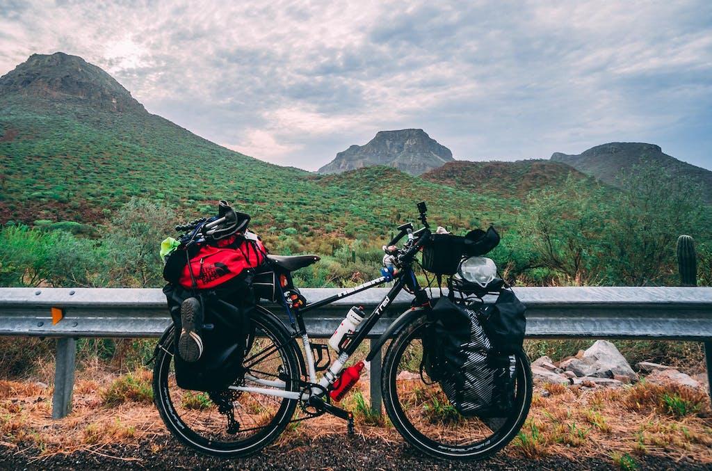 Girare il Messico in bici, la dura ripartenza dopo lo stop