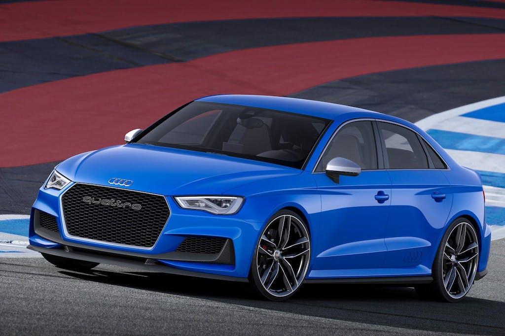 Audi A3 clubsport quattro concept: tuning ufficiale