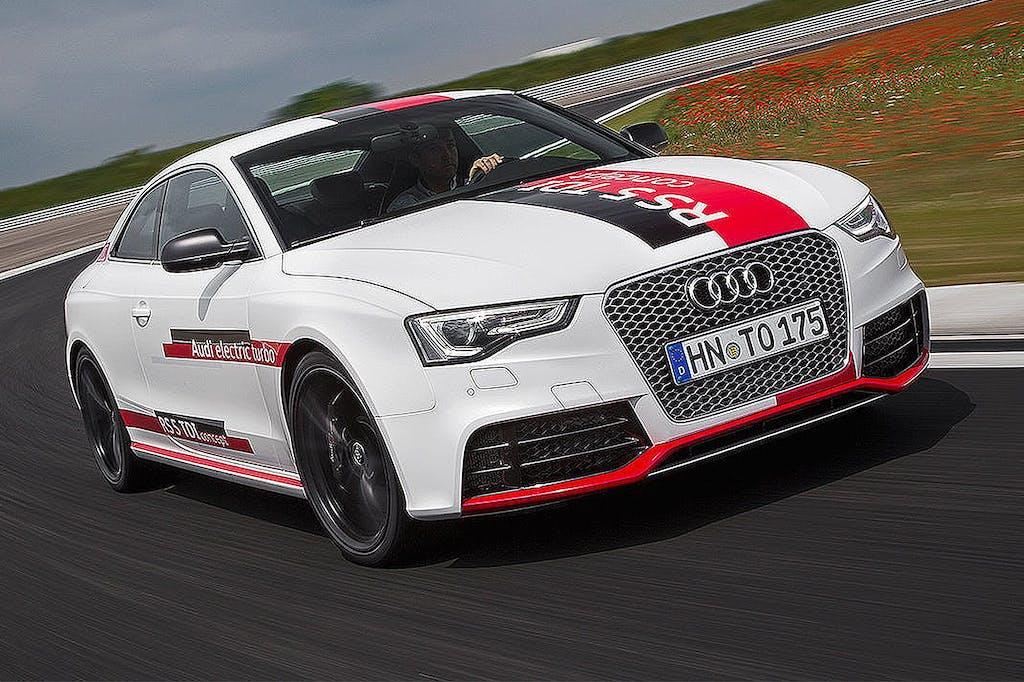 Audi RS5 TDI Concept: turbo (quasi) elettrico