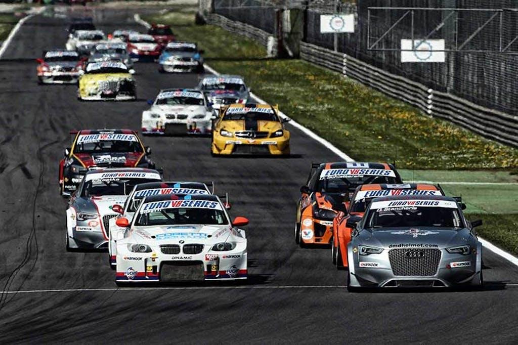 Epic Finish @ Euro V8 Series